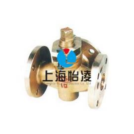 供应上海全铜旋塞阀|上海怡凌X44W三通全铜旋塞阀