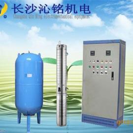 沁铭牌不锈钢材质广西深井自动变频供水设备价格
