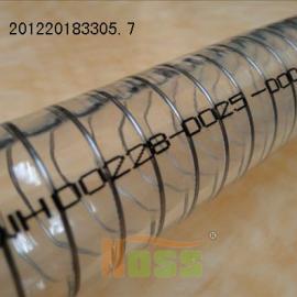 通过塑化剂18项检测食品级透明钢丝软管 深圳诺思品牌
