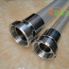 深圳食品级钢丝吸料软管 不含塑化剂透明钢丝输送软管