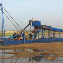 强磁板式铁粉船