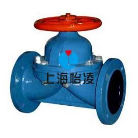 生产供应上海衬胶隔膜阀|上海怡凌G41J衬胶隔膜阀