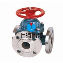生产供应三通隔膜阀|上海怡凌G49W三通隔膜阀