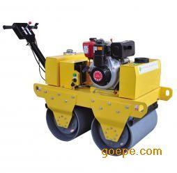 河北青海宁夏HH-600手扶式双轮压路机gb12915