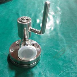 卫生级不锈钢罐底阀