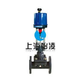 供应电动隔膜调节阀|上海怡凌ZDSG型电动隔膜调节阀