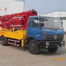 小型农村26米混凝土臂架泵车