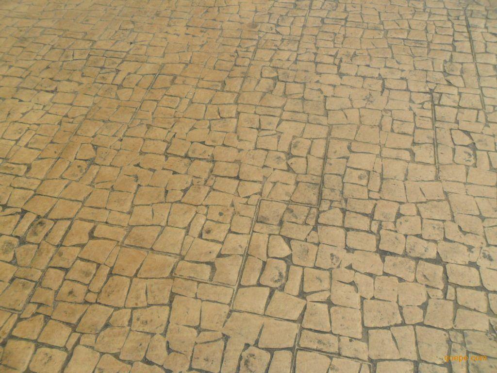 沙雅仿石压印地坪/新和水泥压花地坪/阿克苏抗压彩色混凝土