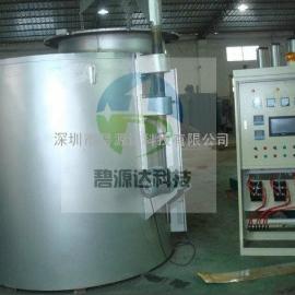 铝合金电磁加热熔炉节能改造