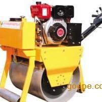 宁夏内蒙单轮重型手推震动碾厂价促销,轻型振动压路机