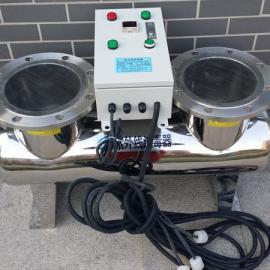 江西南昌水产养殖循环水专用管道式紫外线消毒器