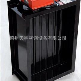 70°(280°)防火调节阀多叶排烟口工程备案AB标签