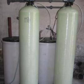 酒店洗床单被罩水处理装置双罐软水器