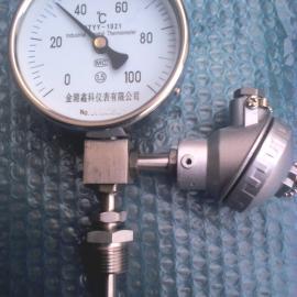 WTYY-1021远传工业用双金属温度计