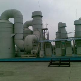 废气吸附装置|PP洗涤塔|活性炭吸附塔