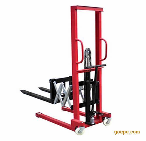 手动前移叉车 前移装卸车 液压伸缩臂式装卸车