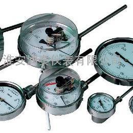 双金属温度计WSS-411W L=200mm Φ6mm 0--500℃ 径向
