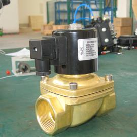 锻铜常闭蒸汽电磁阀|先导式结构