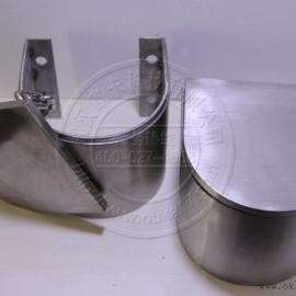 沉降观测点保护罩 马蹄形保护盒