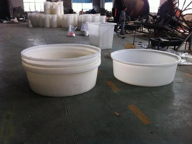 新研发一款550L食品级塑料圆桶,PE材质550L酸洗桶加工