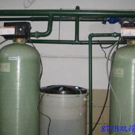 富莱克8T/H双罐流量软水器