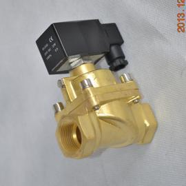 锻铜蒸汽螺纹常闭式电磁阀
