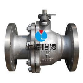 生产供应钛阀门、钛球阀|上海怡凌国标法兰钛球阀
