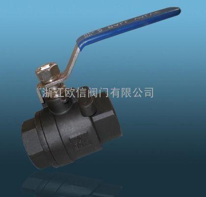 碳钢二片式内螺纹球阀-碳钢内螺纹球阀-q11f-1000wog图片