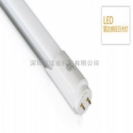 感应灯管雷达感应灯管LED日光灯智能车库灯