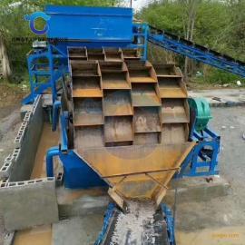 小型山砂洗砂机现货 车载可移动洗砂机产量