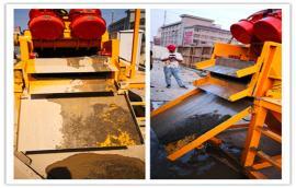 打桩钻孔泥浆处理压滤机分离器