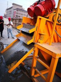 打桩钻孔循环钻进泥浆分离机