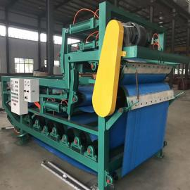 带式污泥脱水机 工业污水污泥处理设备 真空带式过滤机 脱水率高