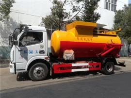 3吨餐厨垃圾车-3吨固液分离餐厨垃圾车