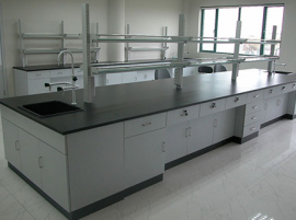 汇众达提供实验室操作台 钢木天平台定制