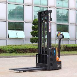 合派电动堆高车CDD12全电动堆高车载重1.2吨步行式电动升降车