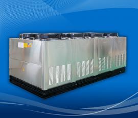 厂商直供游泳池加热设备 恒温泳池空气源热泵全国售后无忧