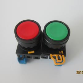 普通平头YW1B-M1E10G绿色按钮开关
