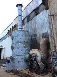 弹簧厂废气治理设备 PP喷淋塔 酸雾净化器 加药装置