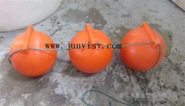 40公分滚塑浮球 直径400MM水产养殖浮球