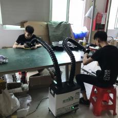 焊锡排烟净化过滤机排烟系统