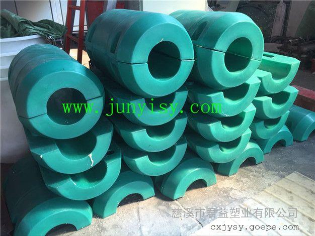 直径500长800孔径8寸夹管浮筒 500*800孔径10管道浮筒