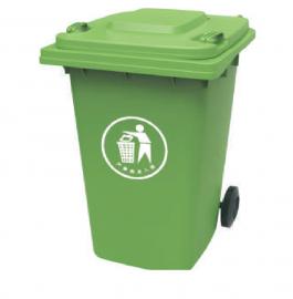 金辉物业四分类塑料垃圾桶-塑料挂车桶-脚踩桶