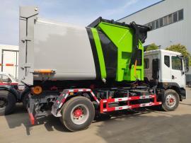 小型勾臂式垃圾车收集车垃圾清运车