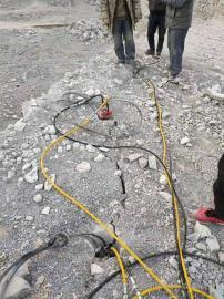 不用爆破矿山开采石头机械