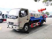 东风小多利卡绿化喷洒车配30米雾炮机