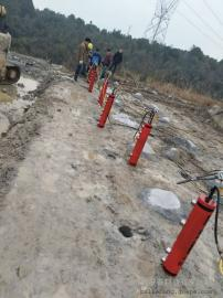 劈裂棒矿山开采代替挖机液压撑石机