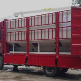 定做20吨饲料运输车 10吨散装饲料罐车定做价