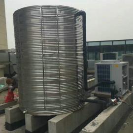 环保圆形不锈钢保温水箱