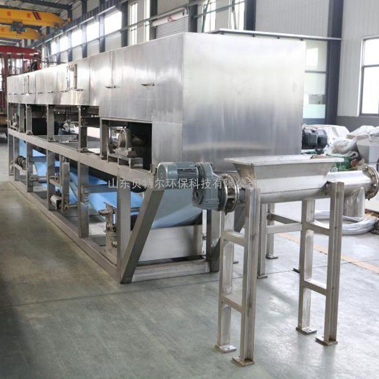 BTE 真空皮带过滤机 金精矿处理装置 贝特尔环保 品质优 DU
